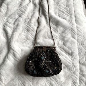 Vintage hand beaded purse. Never used